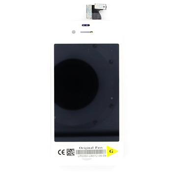 iPhone 4G LCD Display + Dotyková deska White komplet (OEM)