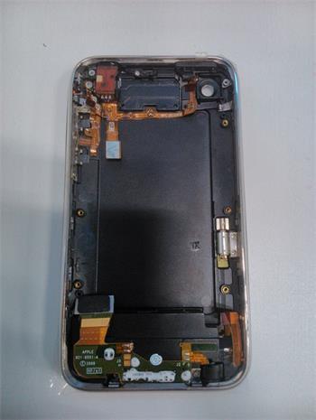 IPHONE OSTATNÉ Model 3G/3GS zadný kryt +rám/flexy čierny