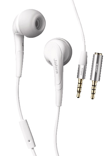 Jabra Rhythm Stereo Headset 3,5mm White (Bulk)