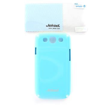 JEKOD Shiny Pouzdro Modré pro Samsung Galaxy S3 (i9300/S3 i9301 Neo)