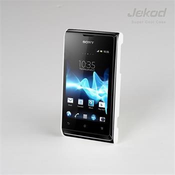 JEKOD Super Cool Pouzdro Biele pro Sony Xperia E C1505
