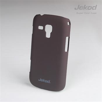 JEKOD Super Cool Pouzdro Brown pro SAMSUNG GALAXY S7560 Trend/S7580 Trend Plus/S7562 S DUOS/ S DUOS2 S7582