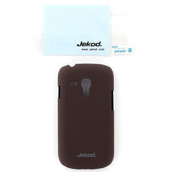 JEKOD Super Cool Pouzdro Brown pro Samsung i8190 Galaxy S3mini, S3 mini i8200 VE