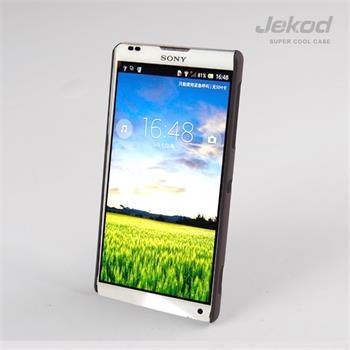 JEKOD Super Cool pouzdro Brown pro Sony Xperia ZL C6503