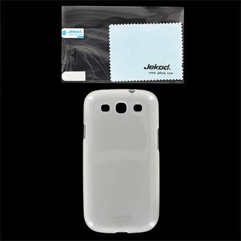 JEKOD TPU Ochranné Pouzdro Biele pro Samsung S3 (i9300/S3 i9301 Neo) Galaxy S3