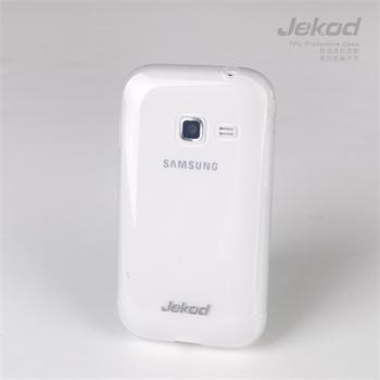 JEKOD TPU Ochranné Pouzdro Biele pro Samsung S6802 Galaxy Ace Duos