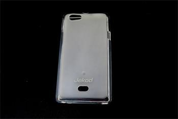 JEKOD TPU Ochranné Pouzdro Biele pro Sony Xperia Miro ST23i