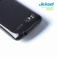 JEKOD TPU Ochranné Pouzdro Black pro HTC Sensation