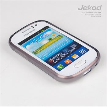 JEKOD TPU Ochranné Pouzdro Čierne pro Samsung S6810 Galaxy Fame