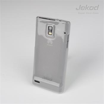 JEKOD TPU Ochranné Pouzdro White pro Huawei Ascend P1