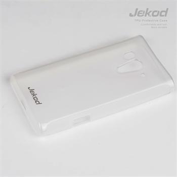 JEKOD TPU Ochranné Pouzdro White pro Sony Xperia Acro S (LT26W)