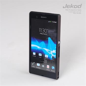 JEKOD TPU Védőtok Sony C6603 Xperia Z Black pro Sony C6603 Xperia Z