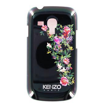 KENZO Exotic Čierne Zadní Kryt pro Samsung i8190 Galaxy S3mini, S3 mini i8200 VE (EU Blister)