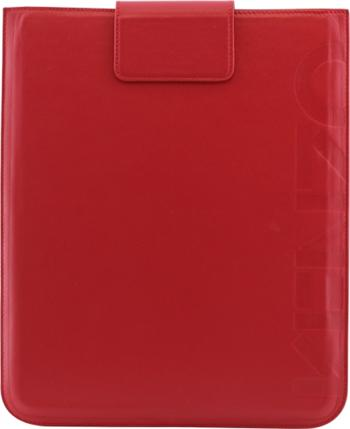 KENZO Kožené Pouzdro Logo Rouge pro The New iPad (EU Blister)