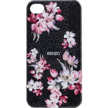 KENZO Zadní Kryt Flower Black pro iPhone 4/4S (EU Blister)