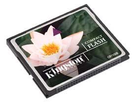 Kingston Compact Flash Card 4 GB (CF/4GB)