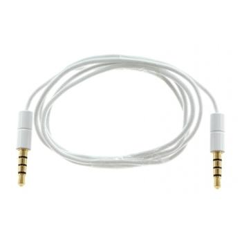 KitSound 3,5mm - 3,5mm AUX Kabel White Slim (EU Blister)