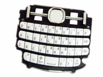Klávesnice Nokia Asha 200/201 White