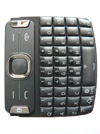 Klávesnice Nokia Asha 302 Dark Grey