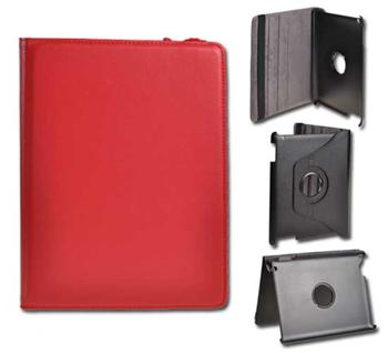 Knižkové puzdro pre tablet IPAD2/IPAD3, Červené