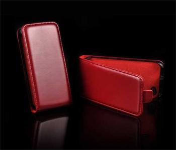Knižkové púzdro Slim iPhone 5/5S/SE, Červená