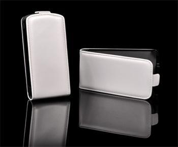 Knižkové puzdro Slim Nokia Lumia 610, Biele