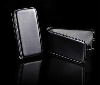 Knižkové puzdro Slim Samsung Galaxy Note 2, N7100, Čierne