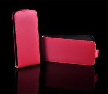 Kožené knižkové púzdro NEO slim Samsung (i9300/S3 i9301 Neo) Galaxy S3 Ružová