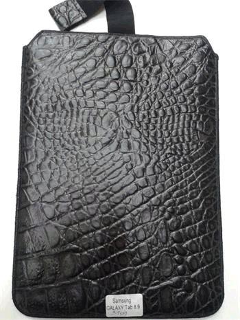 """Kožené púzdro Samsung Galaxy Tab P1000"""" čierne"""