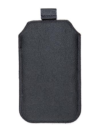 Kožené púzdro veľkosť 20 čierne bez pásika