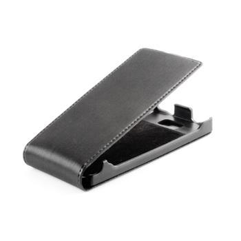 Koženkové knižkové púzdro SLIGO Premium Flip Apple iPhone 4 / 4S Čierne
