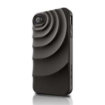 Musubo pouzdro Ripple pro Apple iPhone 4/4S Black (EU Blister)