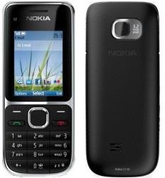 Náhradný kryt Nokia C2-01 Black