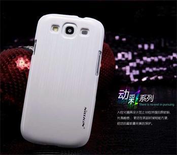 Nillkin Dynamic Colors Zadní Kryt Biely pro Samsung (i9300/S3 i9301 Neo) Galaxy S3