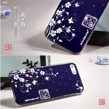 Nillkin Poyo Butterfly Flower 3D Zadní Kryt pro iPhone 5 (EU Blister)