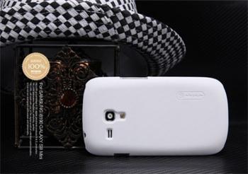 Nillkin Super Frosted Zadní Kryt Biely pro Samsung i8190 S3mini, S3 mini i8200 VE biely