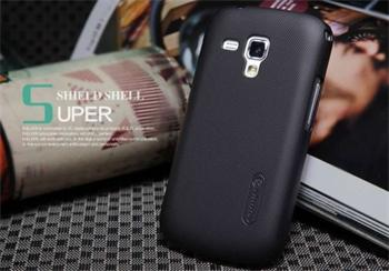 Nillkin Super Frosted Zadní Kryt Black pro SAMSUNG GALAXY S7560 Trend/S7580 Trend Plus/S7562 S DUOS/ S DUOS2 S7582