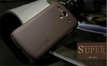 Nillkin Super Frosted Zadní Kryt Brown pro Huawei G300 Ascend