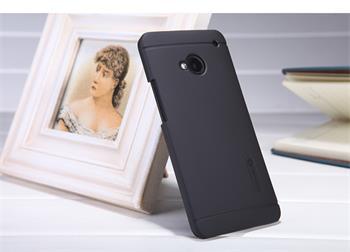 Nillkin Super Frosted Zadní Kryt Čierne pro HTC ONE/M7