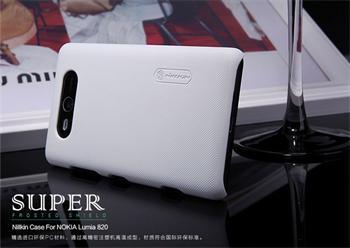 Nillkin Super Frosted Zadní Kryt White pro Nokia Lumia 820