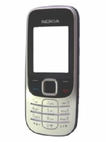 Nokia 2330c Black Přední Kryt vč. Klávesnice