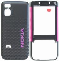 Nokia 5610 Black Pink Kryt Přední-Baterie