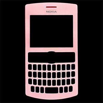 Nokia Asha 205 Soft Pink Přední Kryt