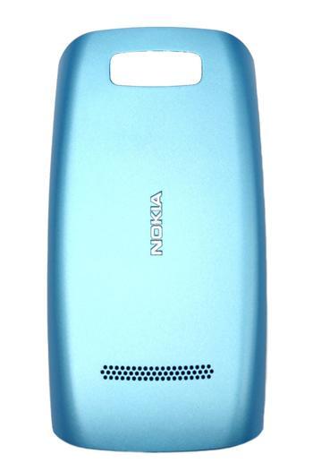 Nokia Asha 305, 306 Mid Blue Kryt Baterie