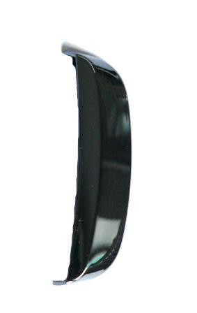 Nokia C2-02 Chrome Black Přední Dekorační Štítek