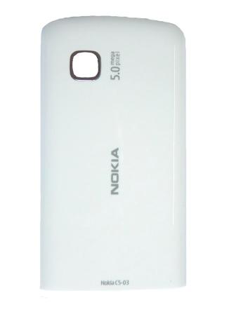 Nokia C5-03 White Kryt Baterie