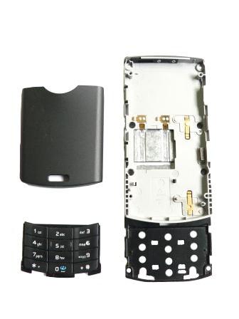 Nokia N80 kryt SWAP, slide modul,baterie,num.kláv.