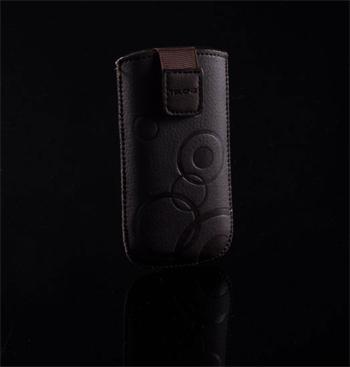 Púzdro DEKO 1 hnedé, veľkosť 07 pre telefóny LG KP500/Sam S5230/HTC Wildfire/Wildfire S/Desire C/Sony Xperia Tipo