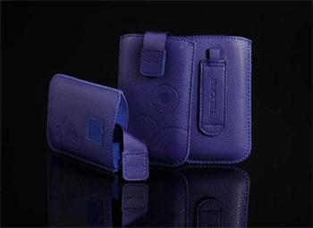 Púzdro DEKO 1 modré, veľkosť 11 pre telefóny Apple iPhone 3G/4G/4S/ Nokia N8/800/200/302/ Samsung S5330/S5830