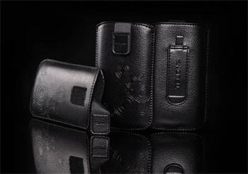 PUZDRO DEKO 2, Čierna, HTC HD2/Sensation/ONE V/ Sam i9000/i9100/S8530/S8600/i9070/S7530